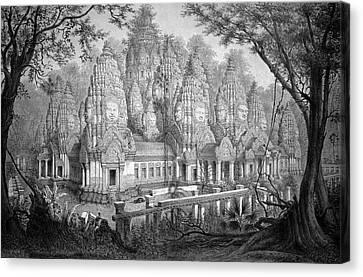 Cambodia Canvas Print - Angkor Wat by Cci Archives