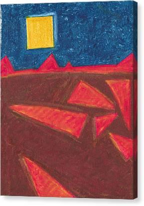 Angled Landscape Canvas Print