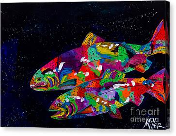 Anglers Dream Canvas Print by Tracy Miller