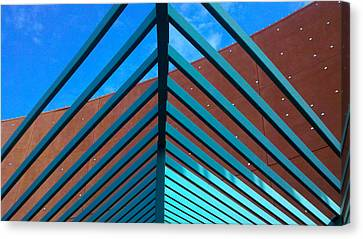 Canvas Print featuring the photograph Angles by Richard Stephen