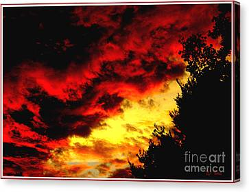 Angry Skies Canvas Print by James C Thomas