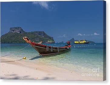 Angthong Canvas Print - Angthong Marine National Park by Joerg Gundlach
