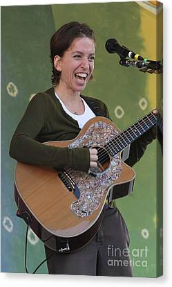 Ani Difranco Canvas Print by Concert Photos