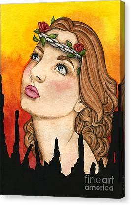 Anima Sola Canvas Print