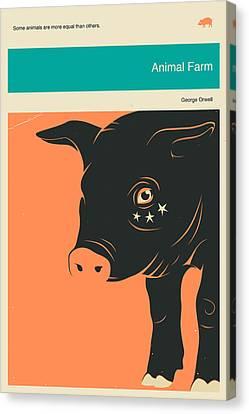 Animal Farm Canvas Print by Jazzberry Blue