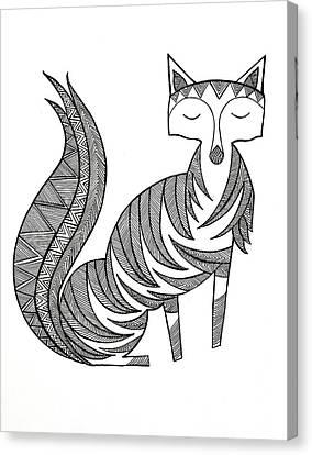 Animal Fox Canvas Print
