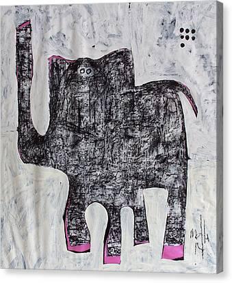 Animalia Elephanti No. 1 Canvas Print by Mark M  Mellon