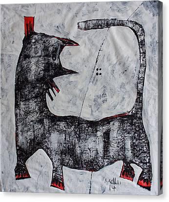 Animalia Feles No. 11 Canvas Print