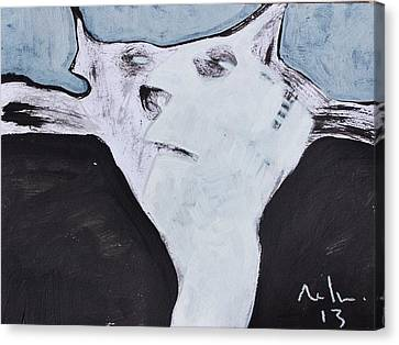 Animalia Feles No. 5 Canvas Print by Mark M  Mellon