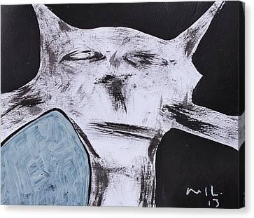Animalia Feles No. 7 Canvas Print by Mark M  Mellon