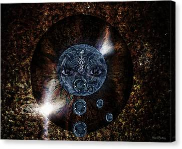 Animus Fugit Canvas Print by Ramon Martinez