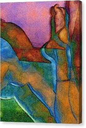 Anklet Canvas Print by David Hansen