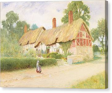 Ann Hathaway's Cottage Canvas Print