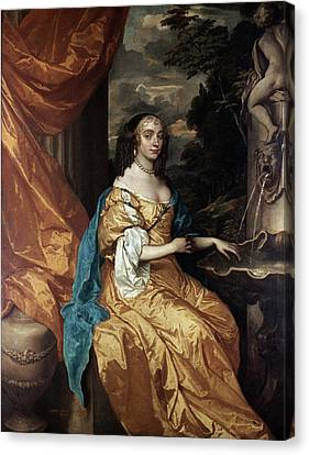 Ann Hyde, Duchess Of York (1637-1671) Canvas Print by Granger