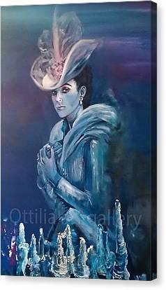 Anna Karenina Canvas Print by Ottilia Zakany