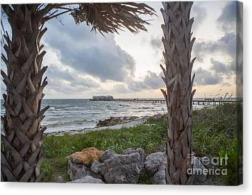 Anna Maria City Pier Canvas Print by Kay Pickens