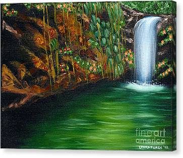 Annadale Waterfall Canvas Print