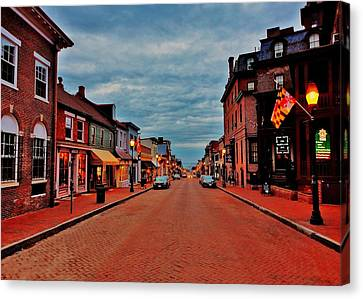 Annapolis Canvas Print by Benjamin Yeager