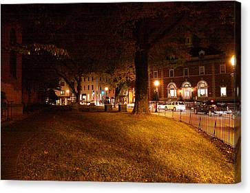 Annapolis Md - 121266 Canvas Print by DC Photographer