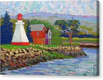 Annapolis Royal Lighthouse 2 Canvas Print