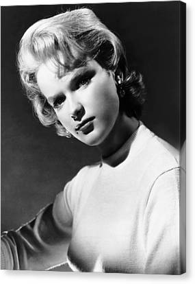 Anne Francis, Ca. Mid-1950s Canvas Print by Everett