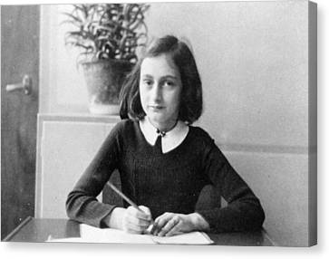 Anne Frank Canvas Print