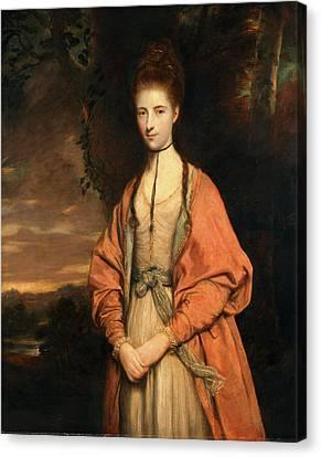 Anne Seymour Damer Hon. Mrs Canvas Print by Litz Collection