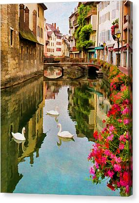 Annecy Canvas Print by Jean-Pierre Ducondi