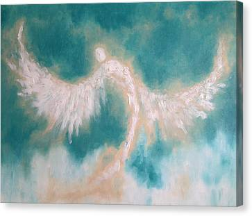 Anne's Angel Canvas Print