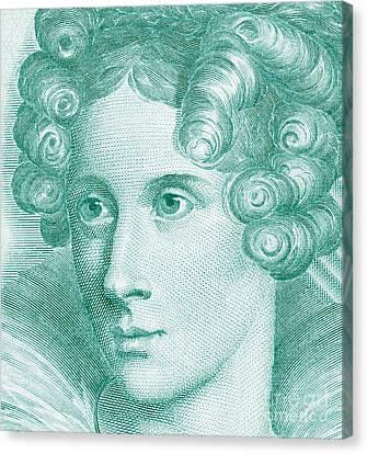 Annette Von Droste-hulshoff Canvas Print by Grigorios Moraitis