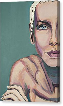 Annie Lennox Talk To Me Canvas Print