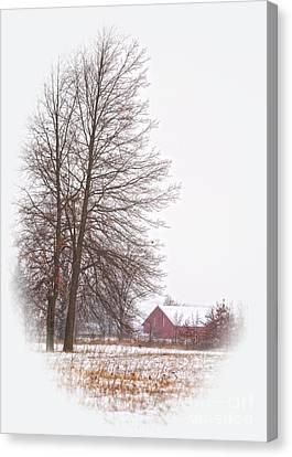 Annie's Barn Canvas Print by Pamela Baker