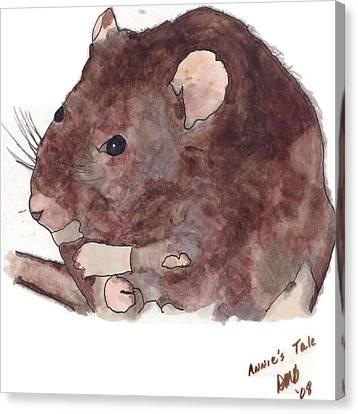 Annie's Taill Canvas Print