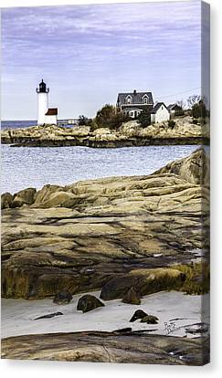 Canvas Print featuring the photograph Annisquam Light by Betty Denise