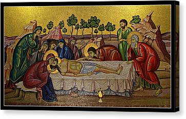 Anointing Canvas Print by Stephen Stookey