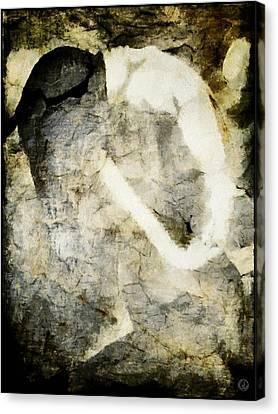 Anorexia Canvas Print by Gun Legler