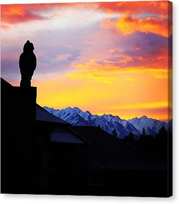 Igaddict Canvas Print - Another Awesome Bc Sunrise! #bc #canada by Brian Governale
