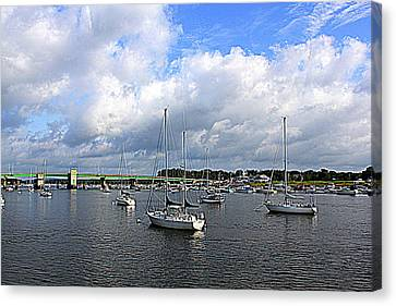 Another Beautiful Day In Newburyport Canvas Print