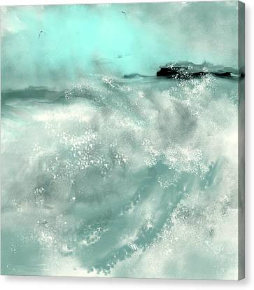 Undertow Canvas Print - Another Beautiful Day by Jessica Wright