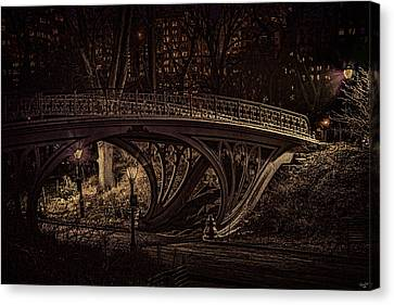 Another Bridge To Cross Canvas Print by Chris Lord
