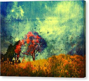 Canvas Print featuring the painting Another Chance by Joe Misrasi