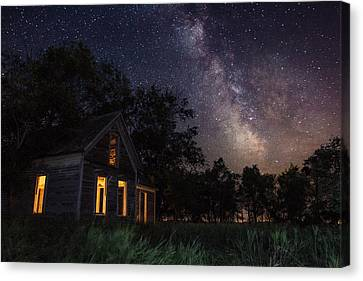 Abandoned House Canvas Print - Another Dark Place  by Aaron J Groen