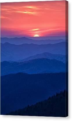 Another Day Ends Canvas Print by Andrew Soundarajan