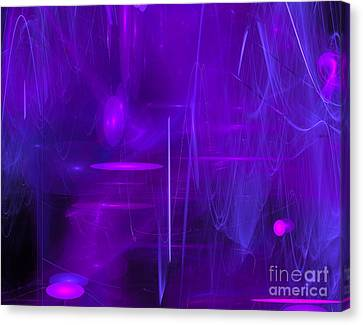 Another Dimension Canvas Print by Victoria Harrington