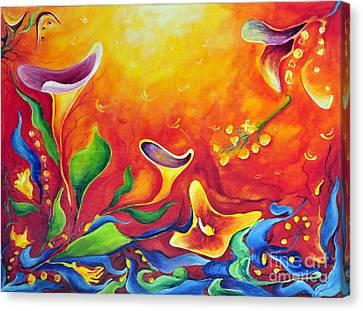Another Dream Canvas Print by Teresa Wegrzyn