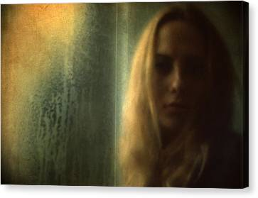 Another Face In A Window II Canvas Print by Taylan Apukovska