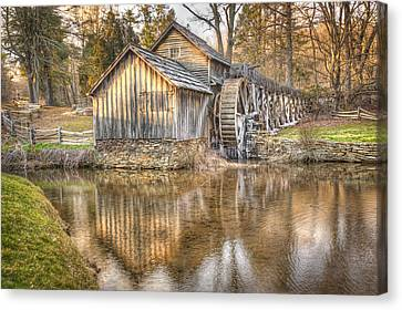 Old Mill Scenes Canvas Print - Another Look At The Mabry by Gregory Ballos