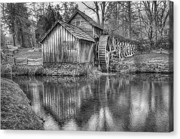 Old Mill Scenes Canvas Print - Another Look At The Mabry Mill by Gregory Ballos