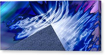 Another Pathway Through The Cosmos Canvas Print by Kellice Swaggerty