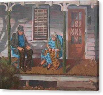 Another Time Canvas Print by Tony Caviston